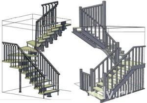 «Сложные» лестницы