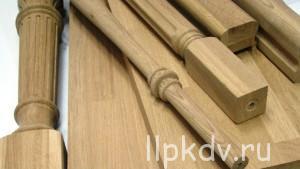 Производство комплектующих для деревянных лестниц из дерева в Хабаровске