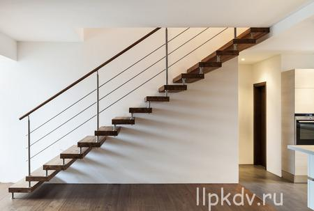 36195300 - beautiful modern loft, staircase view
